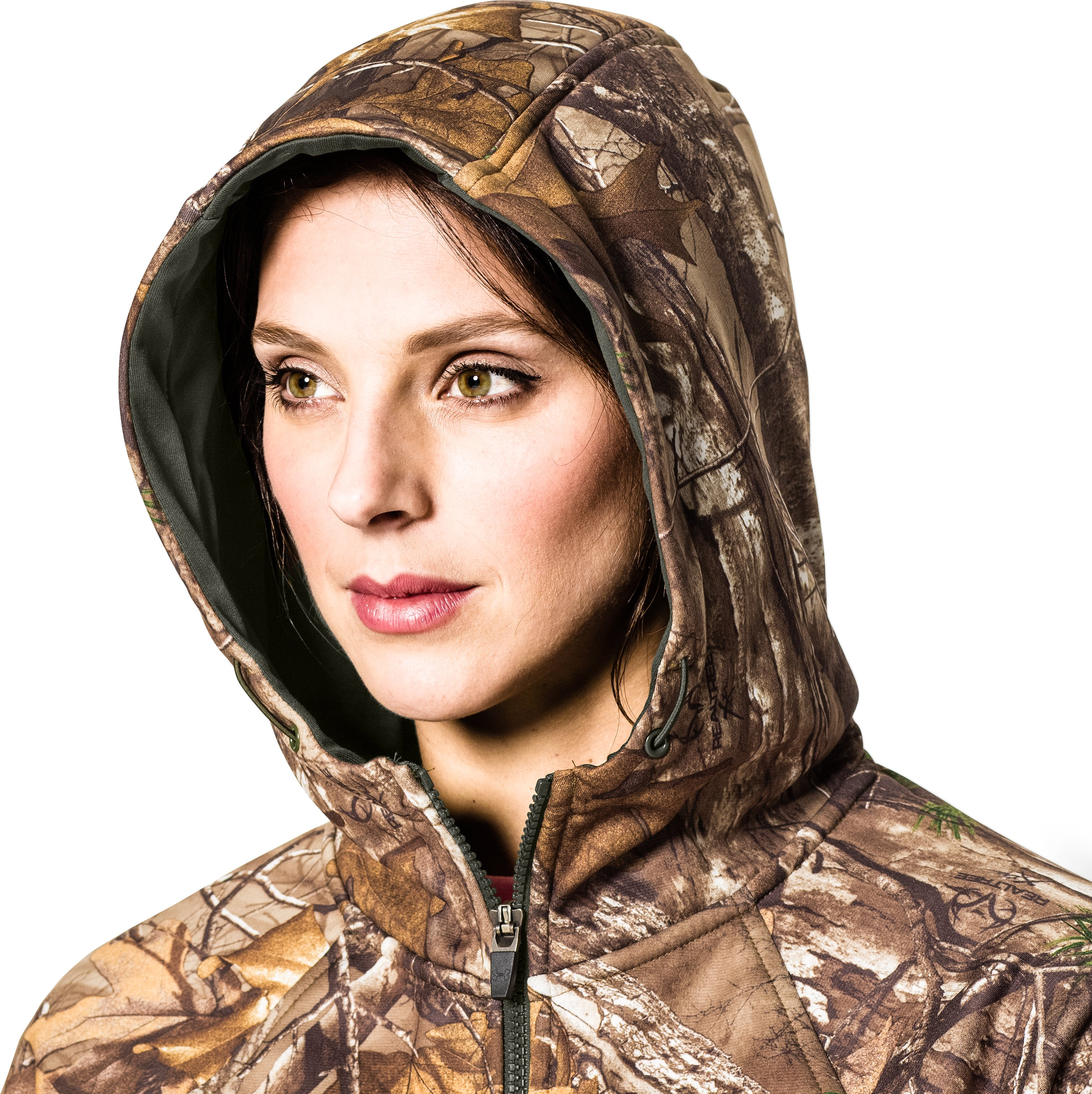 Women's UA Camo Full-Zip Hoodie, RIDGE REAPER® BARREN, undefined