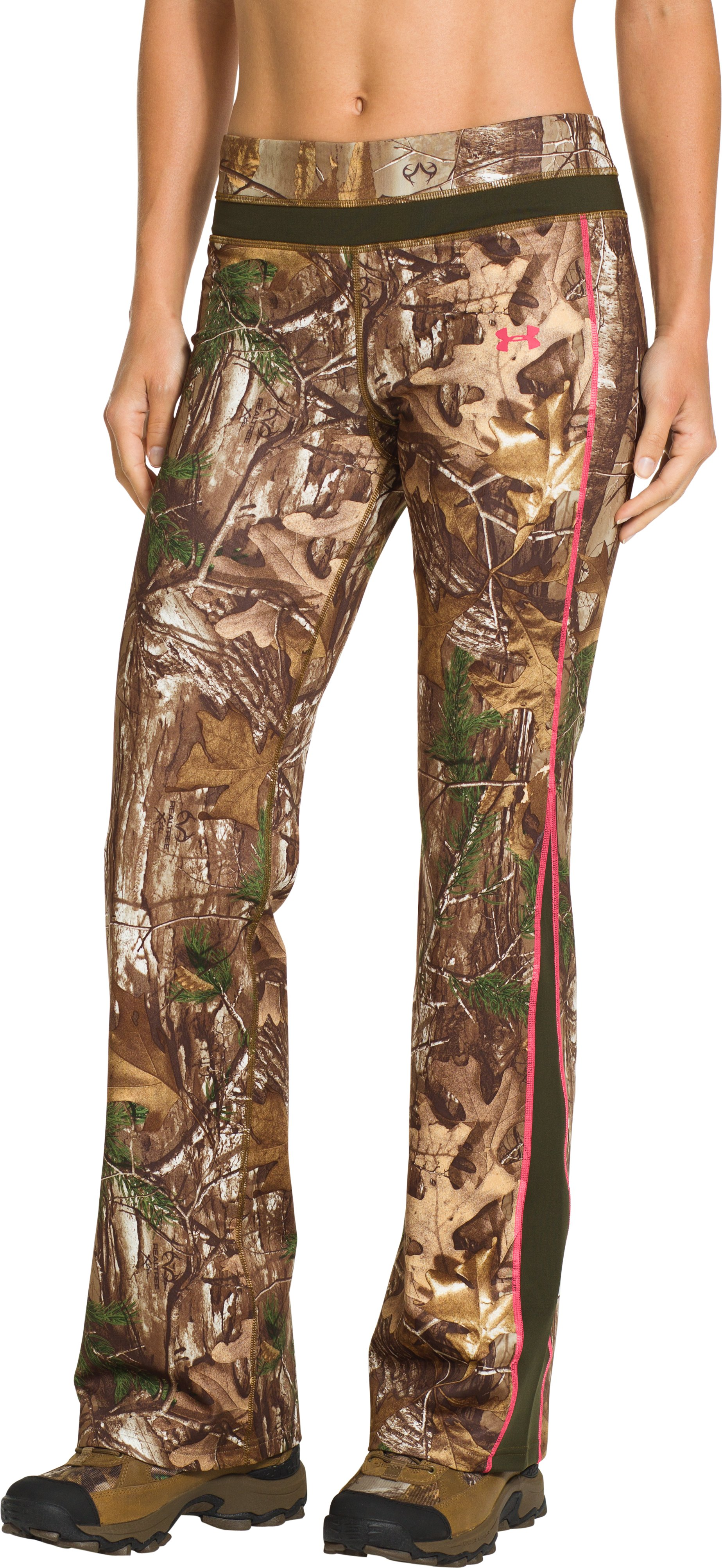 Women's ColdGear® Infrared EVO Pant, REALTREE AP-XTRA, zoomed image