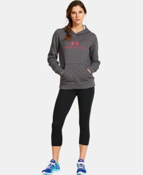 Women's UA Established Hoodie  1 Color $37.99