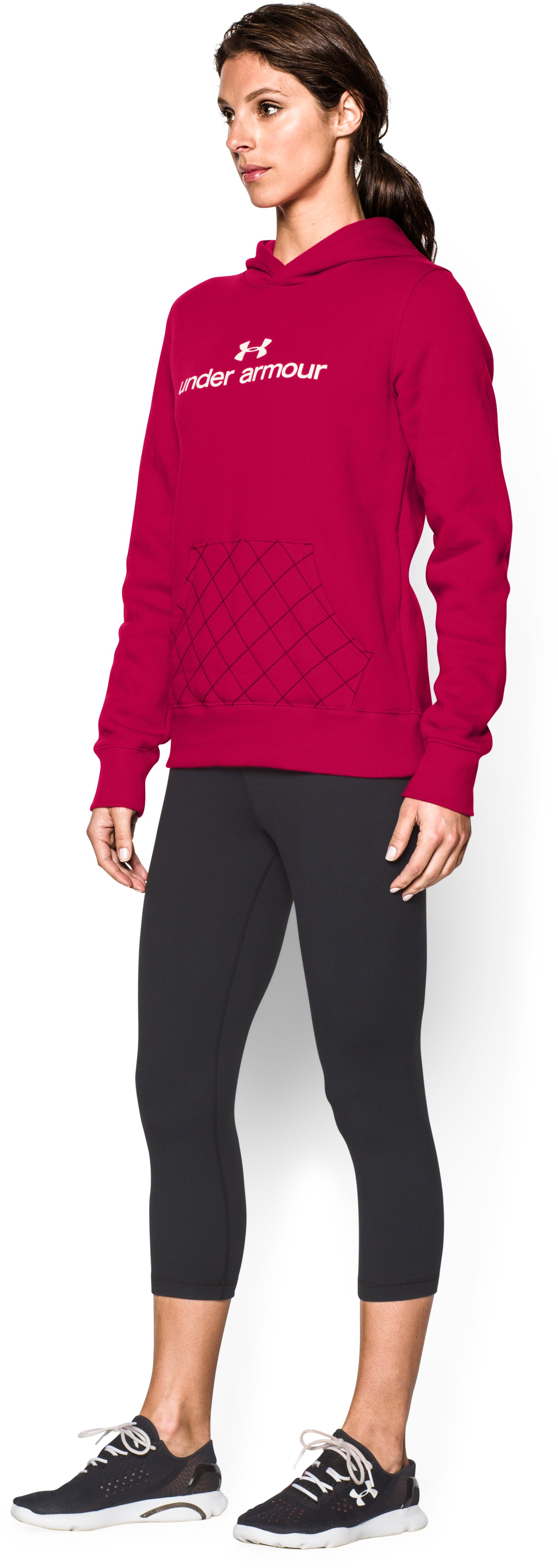 Women's UA Established Hoodie, Fury