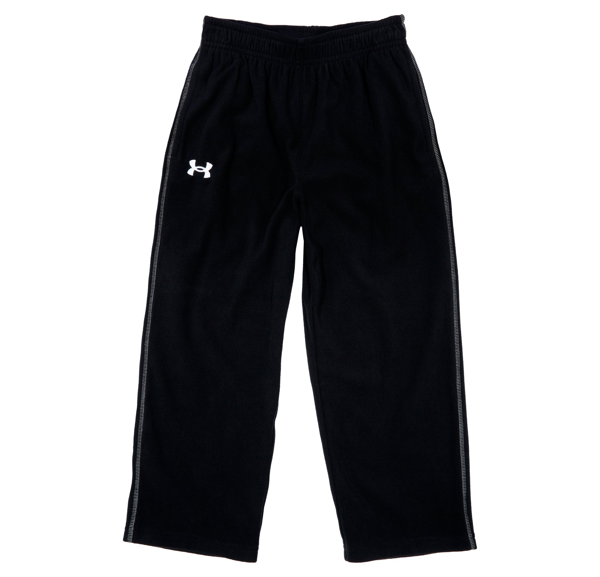 Boys' Pre-School UA Hundo Pants, Black , Laydown