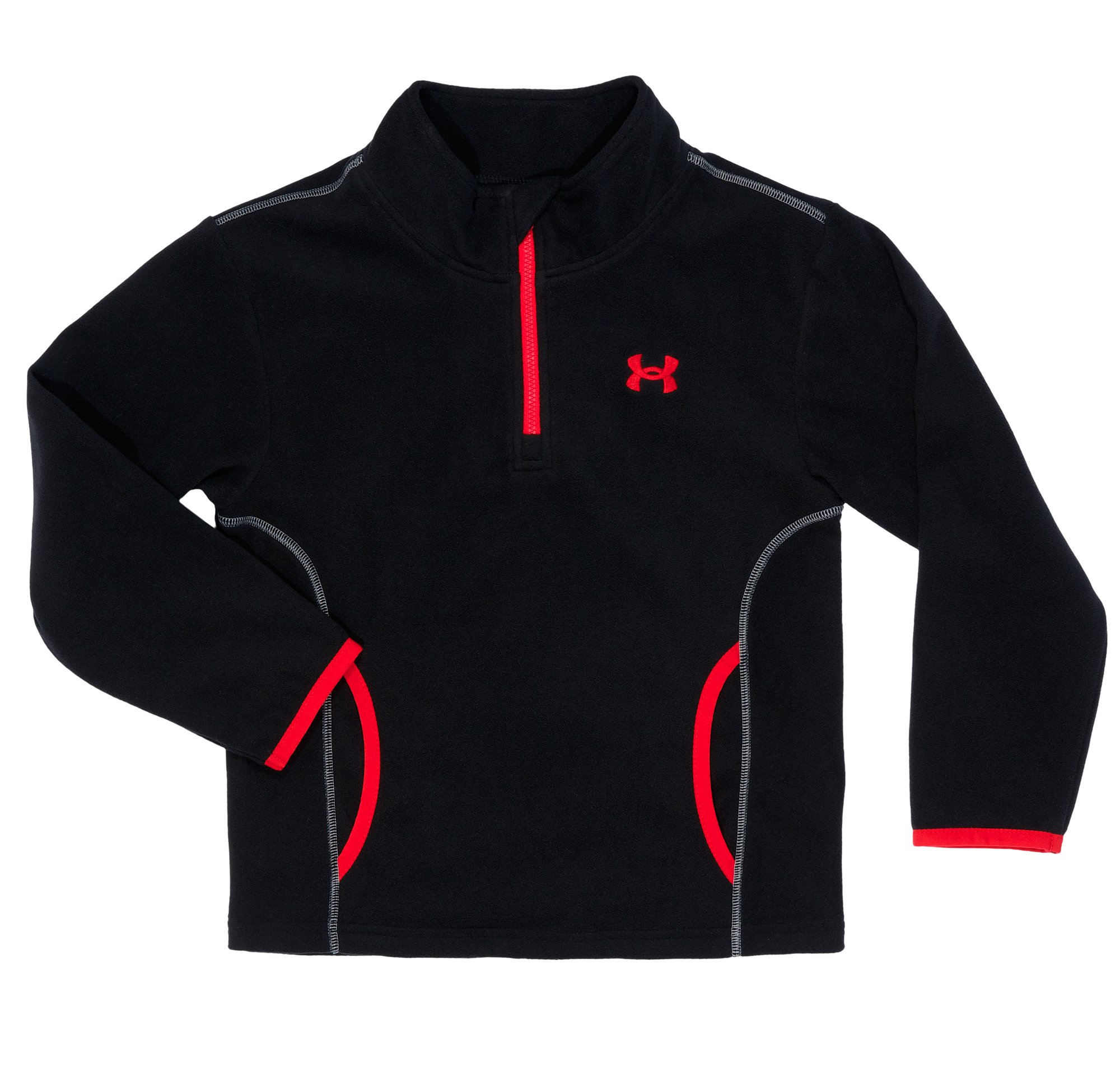 Boys' Pre-School UA Hundo Jacket, Black , Laydown