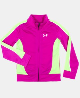 Girls' Toddler UA Winner's Circle Track Jacket