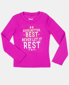 Girls' Infant UA Good Better Best Longsleeve