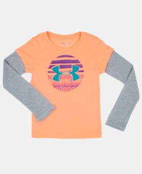Girls' Infant UA Big Logo Sphere Longsleeve