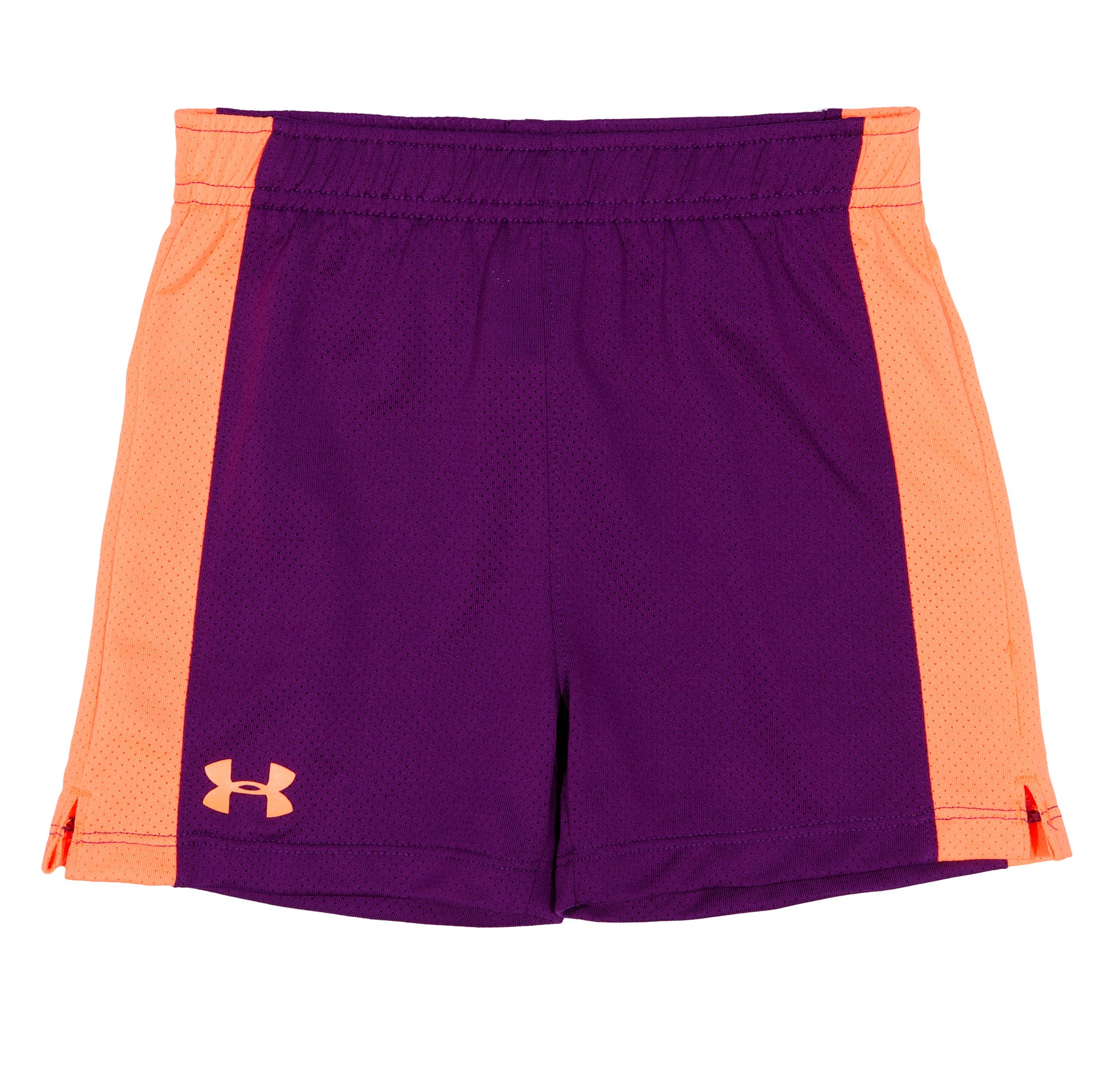 Girls' Infant UA Monster Mesh Shorts, Hendrix, Laydown