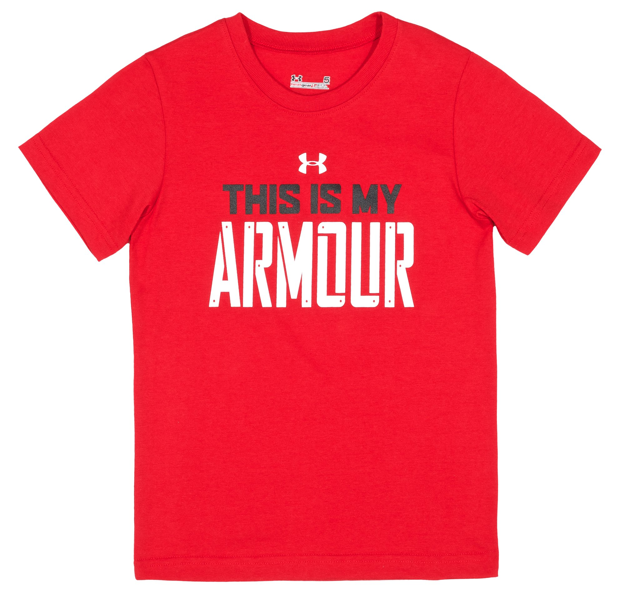 Boys' Infant My Armour™ T-Shirt, Red, Laydown
