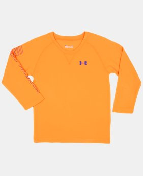 Boys' Infant UA Sleeve Hit Waffle Crew