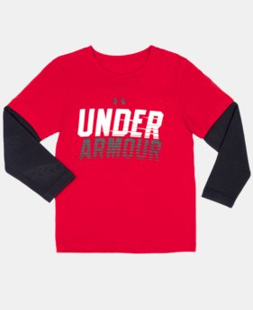 Boys' Infant UA Light Speed Long Sleeve
