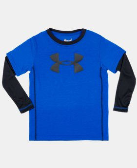 Boys' Infant UA Big Logo Long Sleeve