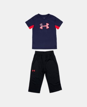 Boys' Infant UA Flag 2-Piece Set