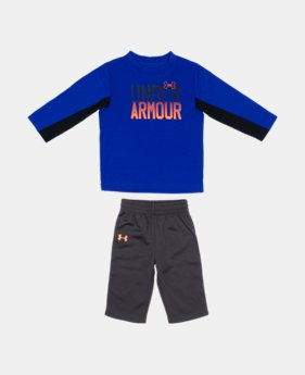 Boys' Infant UA Horizon Fade 2-Piece Set