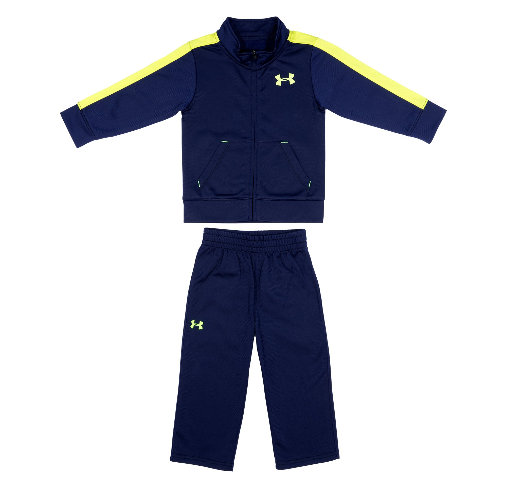 Boys' Infant UA Half-Time Track Set, Midnight Navy, Laydown