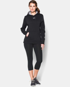 Women's UA Team Rival Fleece Hoodie  1 Color $44.99