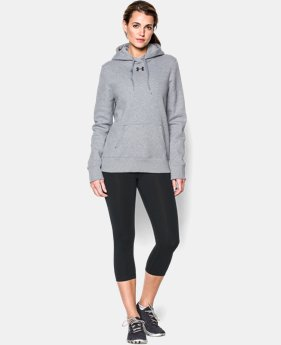 Women's UA Team Rival Fleece Hoodie  2 Colors $44.99