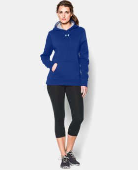 New Arrival Women's UA Team Rival Fleece Hoodie  3 Colors $44.99