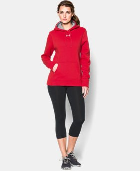 New Arrival  Women's UA Team Rival Fleece Hoodie LIMITED TIME: FREE SHIPPING 2 Colors $49.99