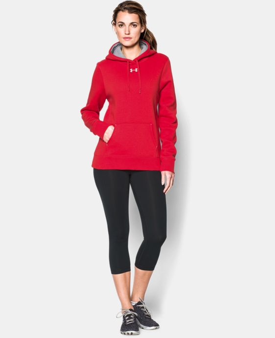 New Arrival  Women's UA Team Rival Fleece Hoodie LIMITED TIME: FREE SHIPPING 3 Colors $49.99