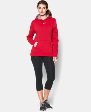 New Arrival  Women's UA Team Rival Fleece Hoodie  1 Color $49.99