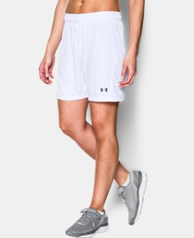 Women's UA Fixture Soccer Shorts LIMITED TIME: FREE SHIPPING 2 Colors $24.99