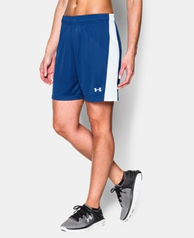 New Arrival  Women's UA Fixture Soccer Shorts LIMITED TIME: FREE SHIPPING 2 Colors $29.99