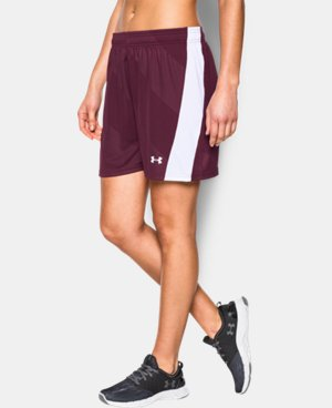 Women's UA Fixture Soccer Shorts  1 Color $24.99