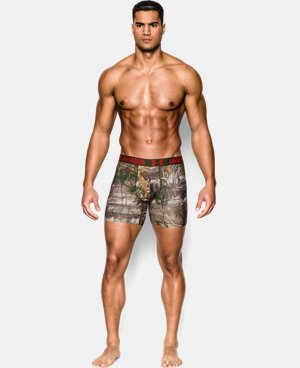 Men's UA Camo Boxerjock® Boxer Briefs LIMITED TIME: FREE SHIPPING 2 Colors $19.68