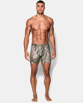Men's UA Camo Boxerjock® Boxer Briefs  1 Color $15.74 to $20.24