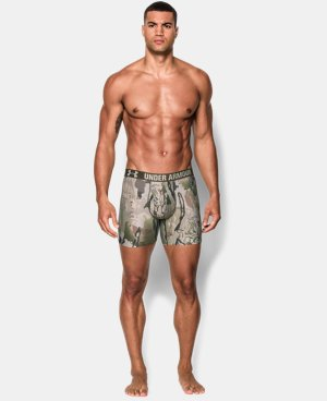 Men's UA Camo Boxerjock® Boxer Briefs LIMITED TIME OFFER + FREE U.S. SHIPPING 3 Colors $22.49