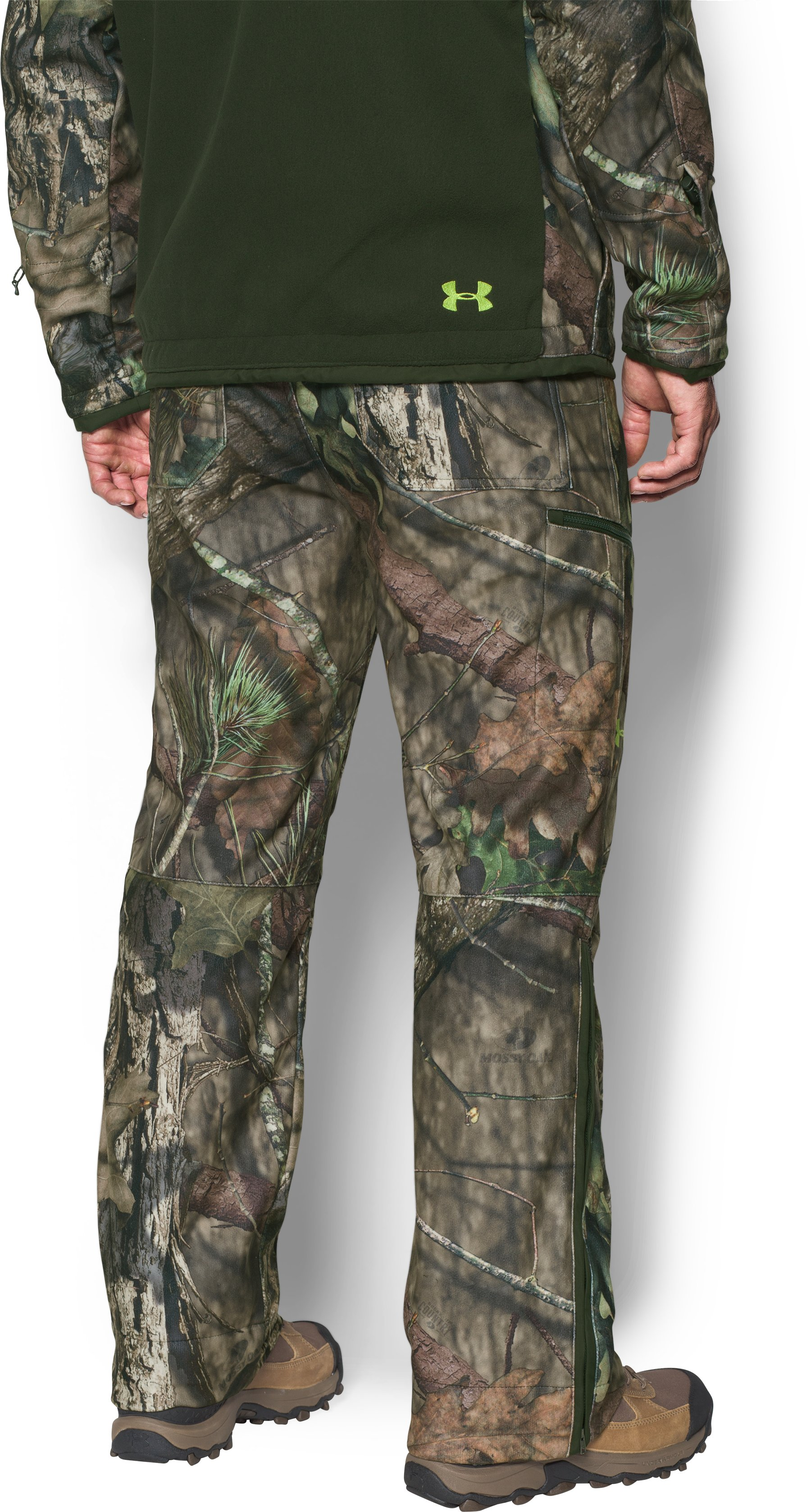 Men's UA ColdGear® Infrared Scent Control Rut Pants, MOSSY OAK BREAK UP COUNTRY, undefined