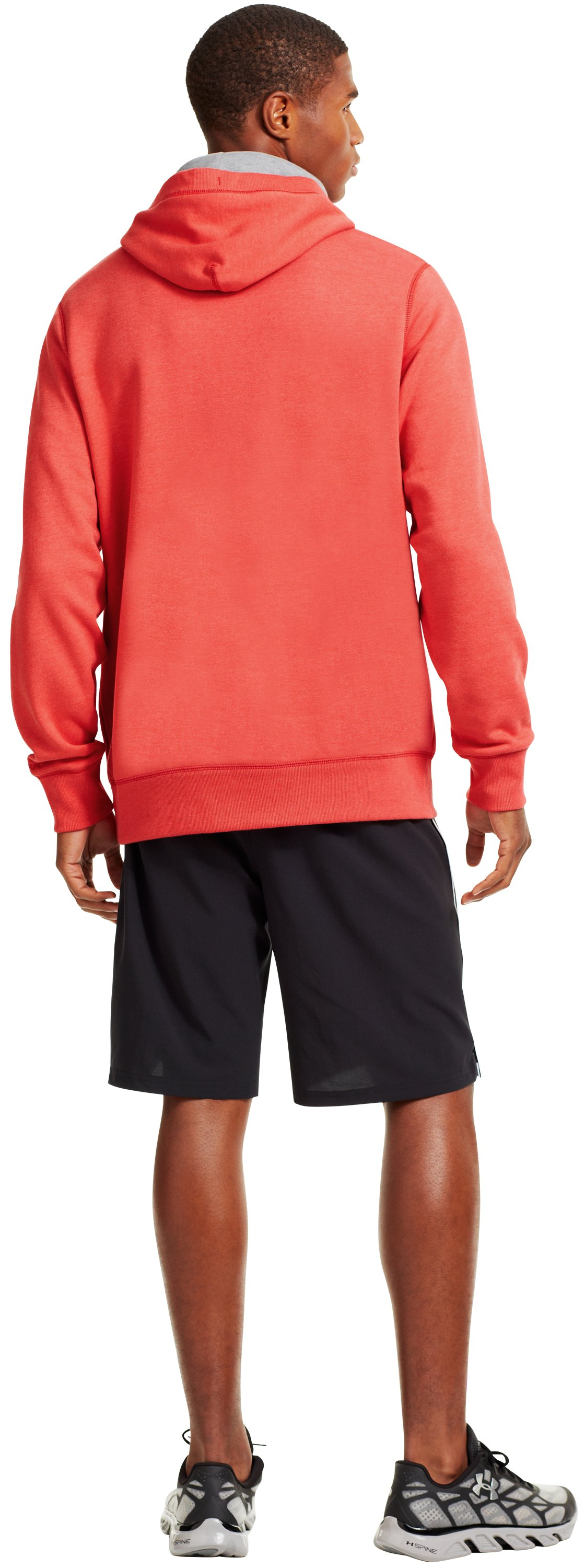 Men's Utah Under Armour® Legacy Hoodie, Red, Back