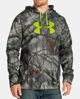 Men's UA ColdGear Infrared® Armour Fleece® Scent Control Hoodie  1 Color $67.99