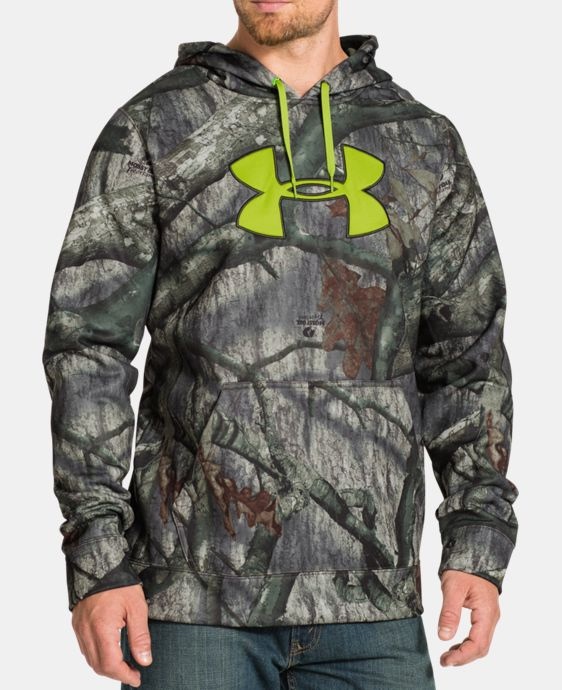 Men's UA ColdGear® Infrared Armour® Fleece Scent Control Hoodie LIMITED TIME: FREE U.S. SHIPPING 2 Colors $50.99 to $67.99