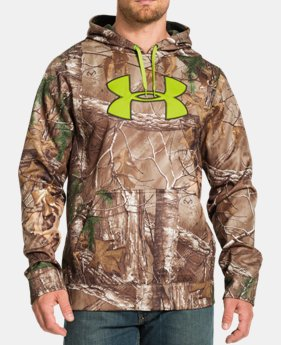 Men's UA ColdGear® Infrared Armour® Fleece Scent Control Hoodie LIMITED TIME: FREE U.S. SHIPPING  $50.99 to $67.99