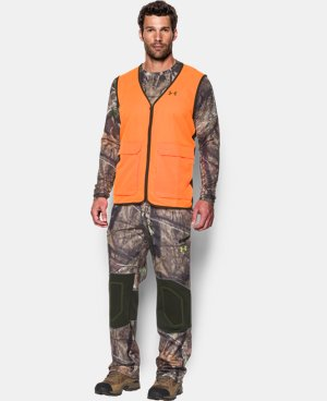 Men's UA Blaze Antler Logo Hunting Vest LIMITED TIME: FREE U.S. SHIPPING 1 Color $54.99