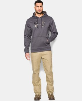 Men's UA Storm Caliber Big Logo Hoodie  1 Color $36.74 to $37.49