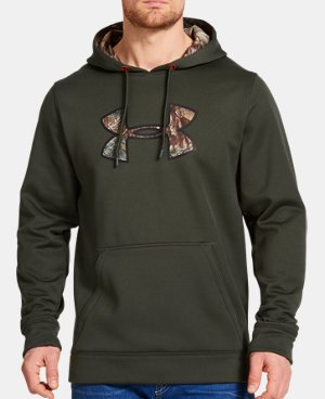 Men's UA Storm Caliber Big Logo Hoodie LIMITED TIME: UP TO 30% OFF 1 Color $38.99 to $45.99