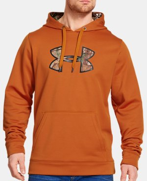 Men's UA Storm Caliber Big Logo Hoodie LIMITED TIME: UP TO 30% OFF 1 Color $38.99 to $48.99