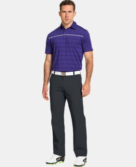 Men's UA Stripe Polo