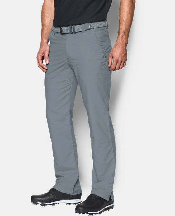 Best Seller  Men's UA Match Play Golf Pants – Straight Leg LIMITED TIME: FREE SHIPPING 2 Colors $67.99 to $89.99