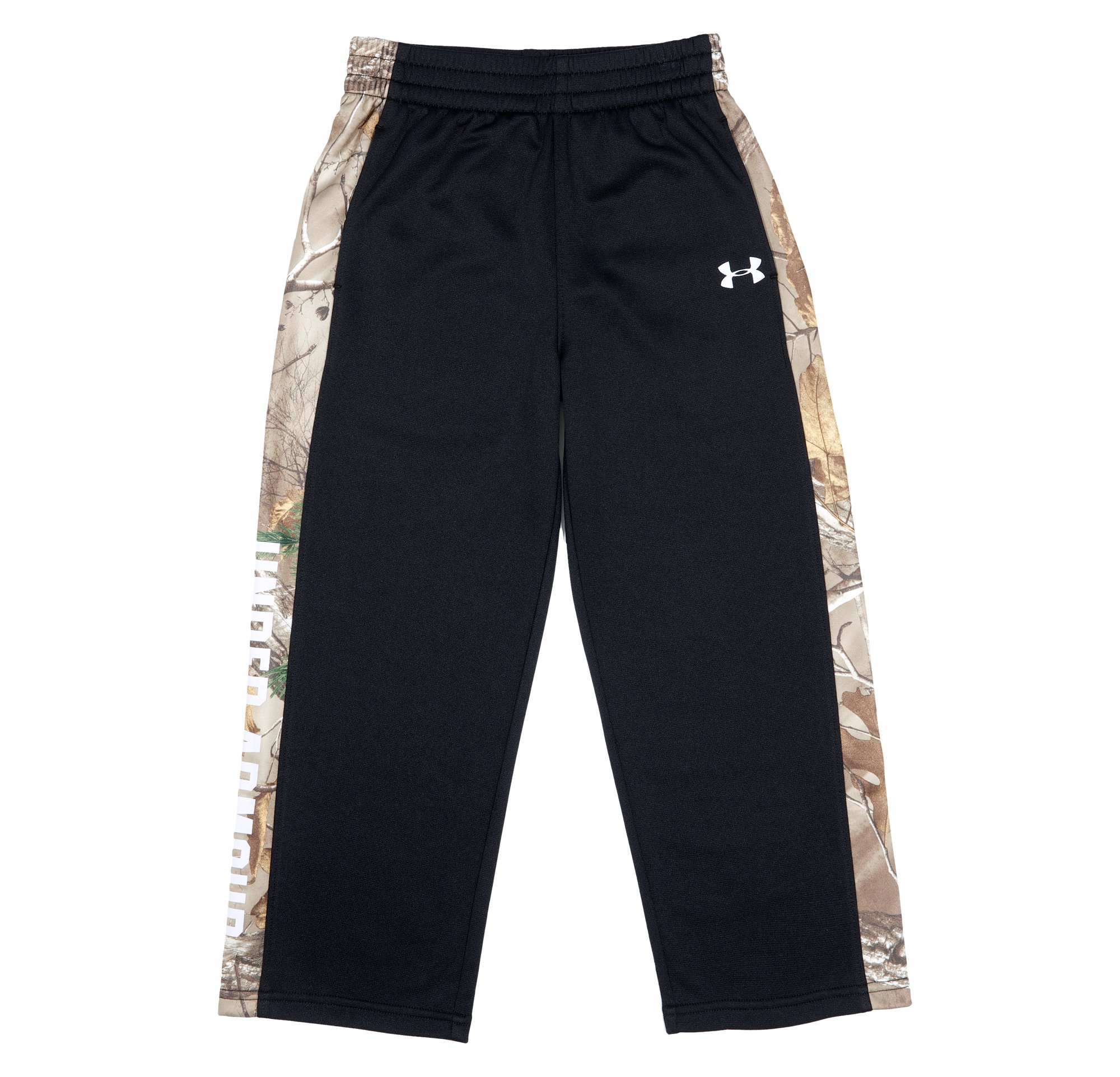 Boys' Pre-School UA Hunt Brawler Pants, Black , Laydown