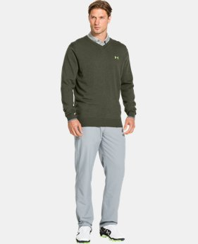 Men's UA Merino V-Neck Sweater