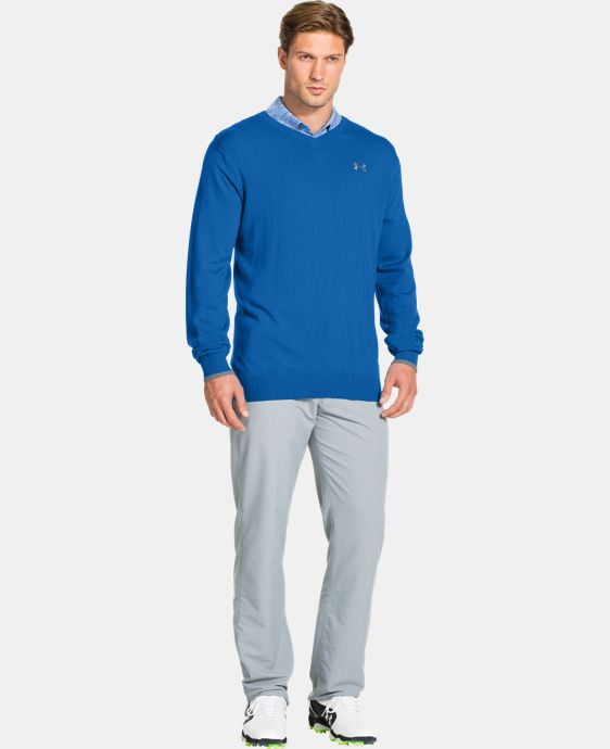 Men's UA Merino V-Neck Sweater LIMITED TIME: FREE U.S. SHIPPING 1 Color $74.99