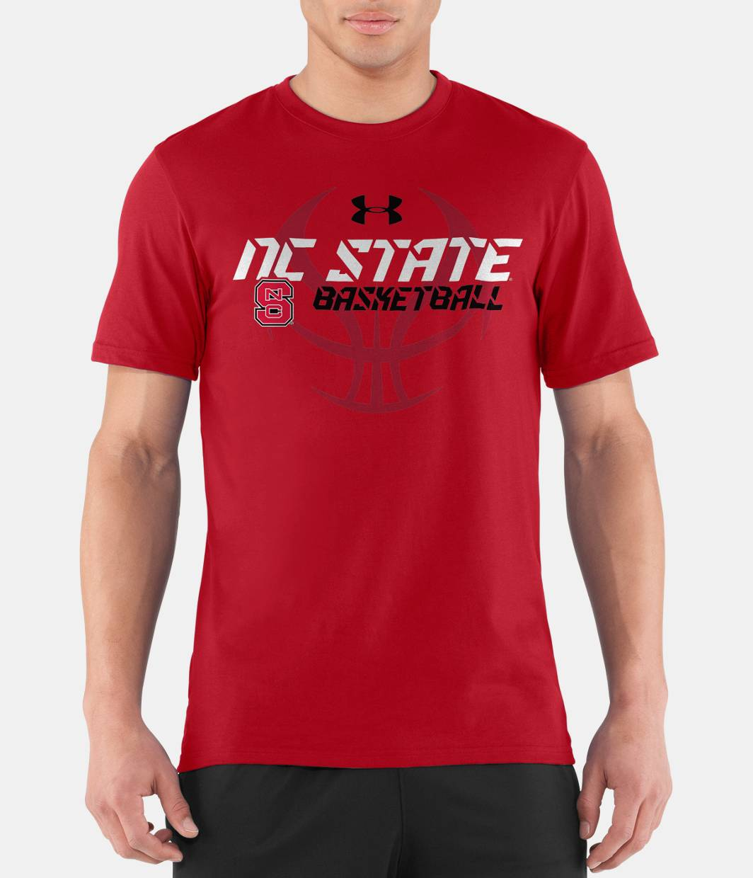 men s nc state ua basketball t shirt under armour us ForNc State Basketball Shirt