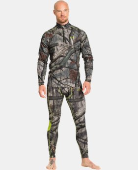 Men's UA ColdGear® Infrared Scent Control Evo ¼ Zip