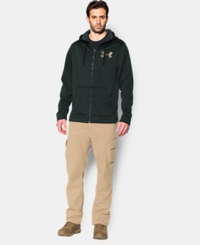 Men's UA Storm ColdGear® Infrared Armour® Fleece Caliber Hoodie   $71.99