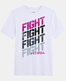 Boys' Power In Pink® Fight T-Shirt