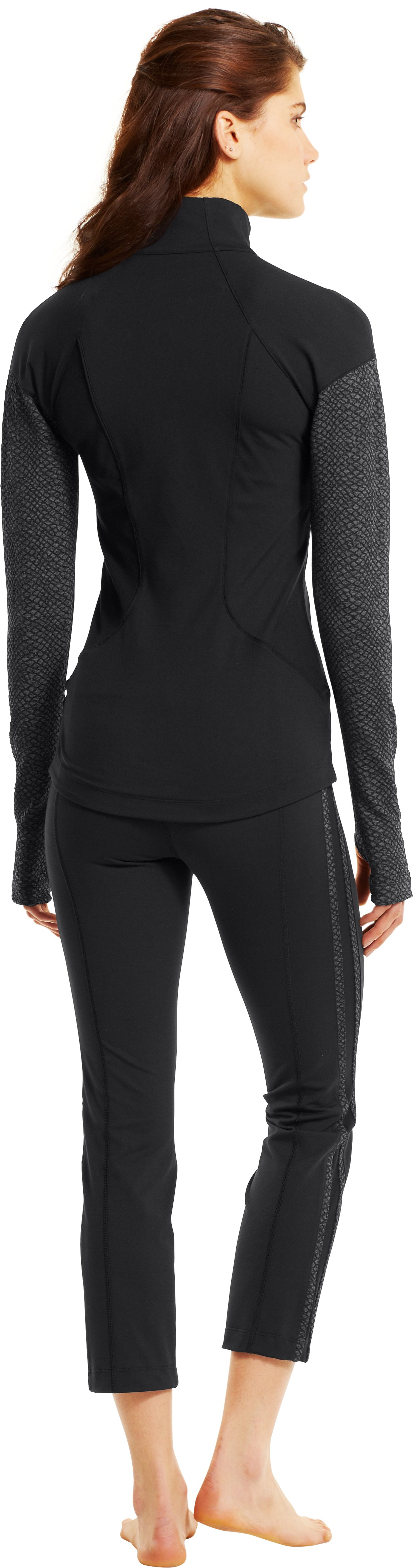 Women's UA StudioMod Jacket, Black , Back
