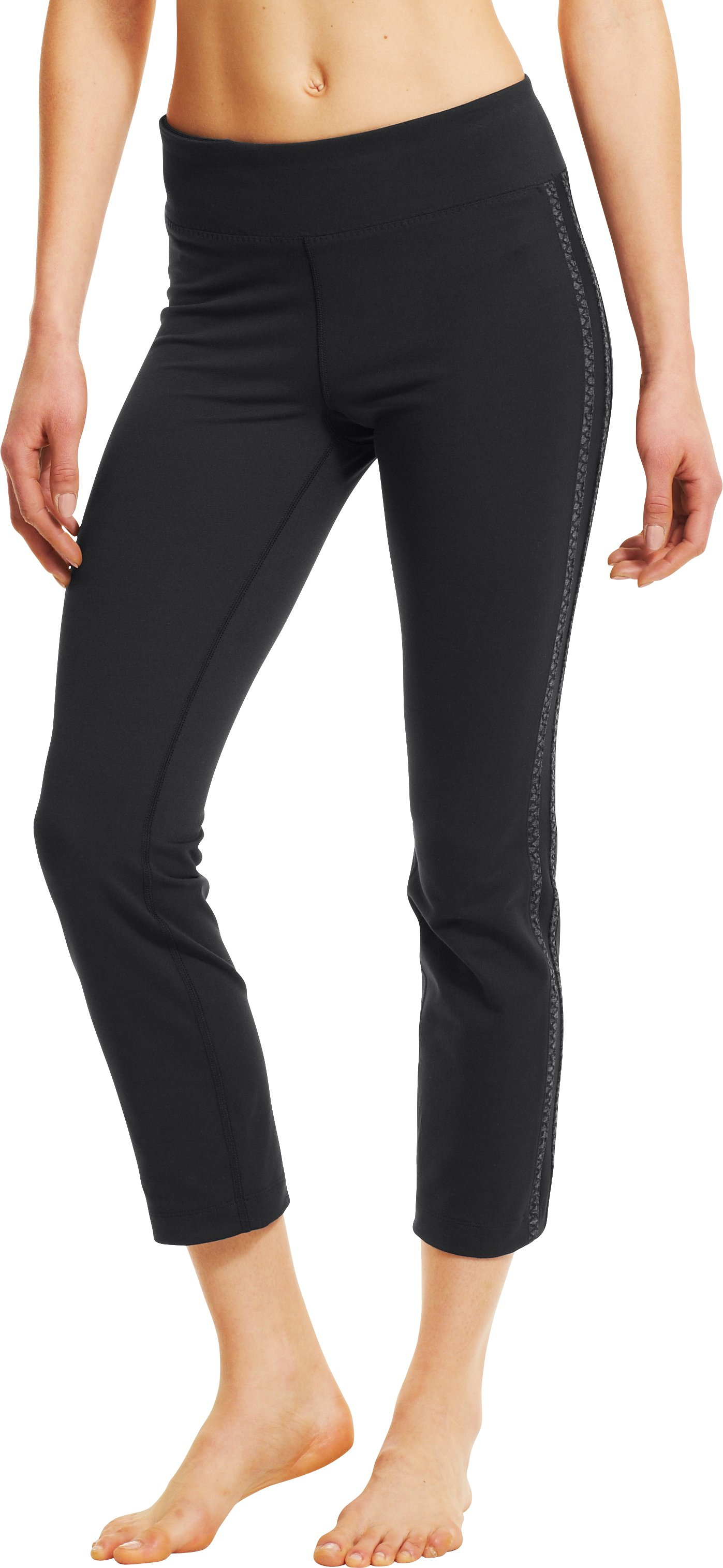 Women's UA StudioMod Pencil Crop Pant, Black