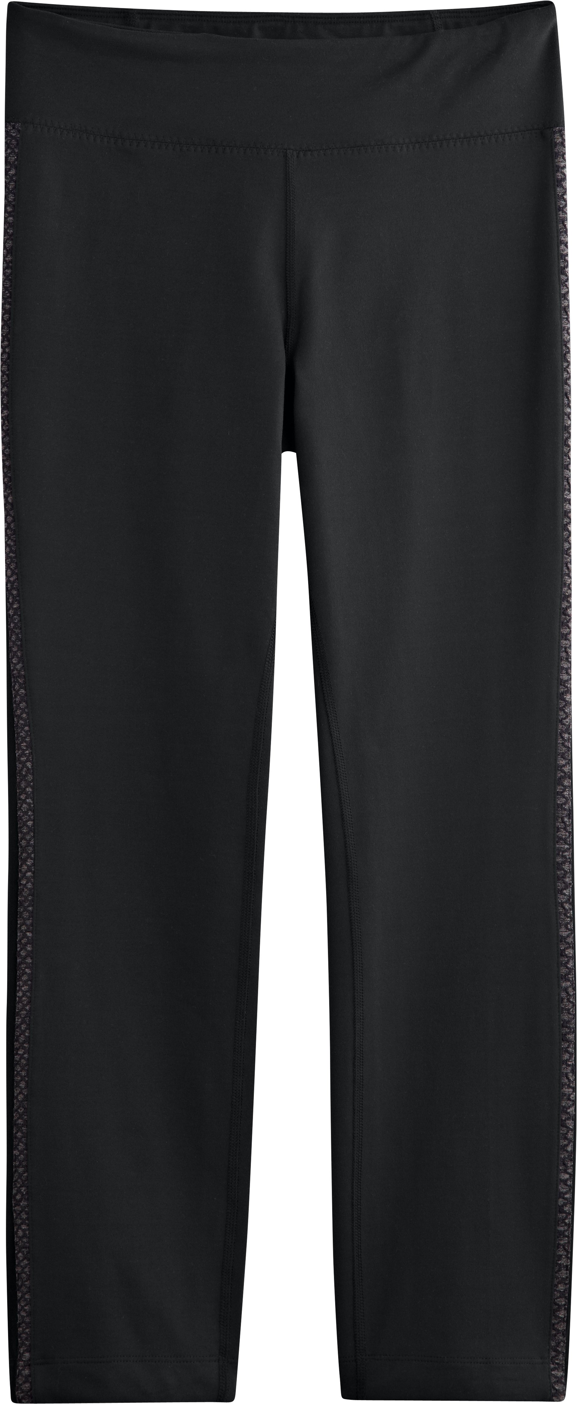 Women's UA StudioMod Pencil Crop Pant, Black , Laydown